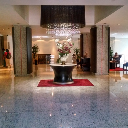 Reception Ramada Reforma Hotel